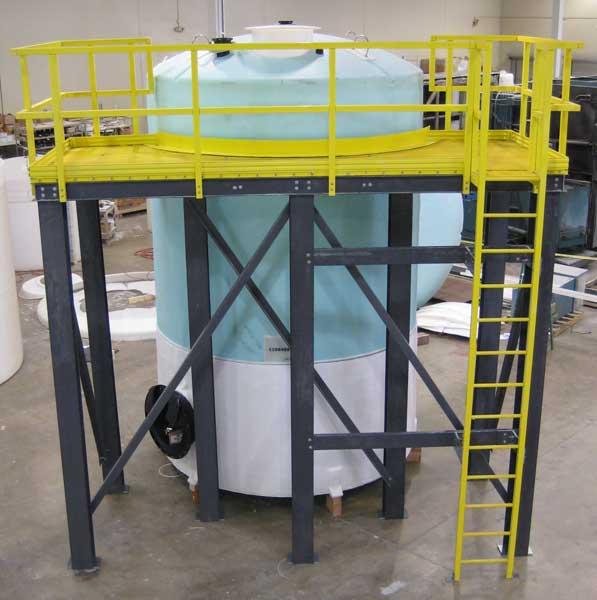 Peabody Engineering - Fiberglass Ladders, Handrails and