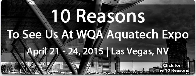 WQA Aquatech Expo 2015 - 10 Reasons To See Peabody Engineering