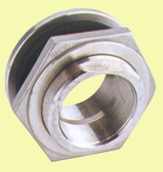 Quot stainless steel bulkhead tank fitting tf ss